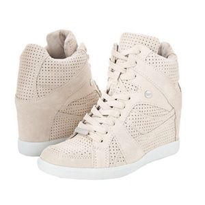 Coach Alexis suede wedge sneakers